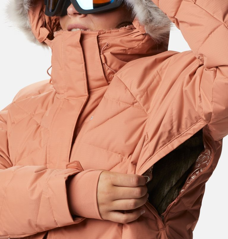 Lay D Down™ II Jacket | 604 | 2X Women's Lay D Down™ II Jacket - Plus Size, Nova Pink Dobby, a5