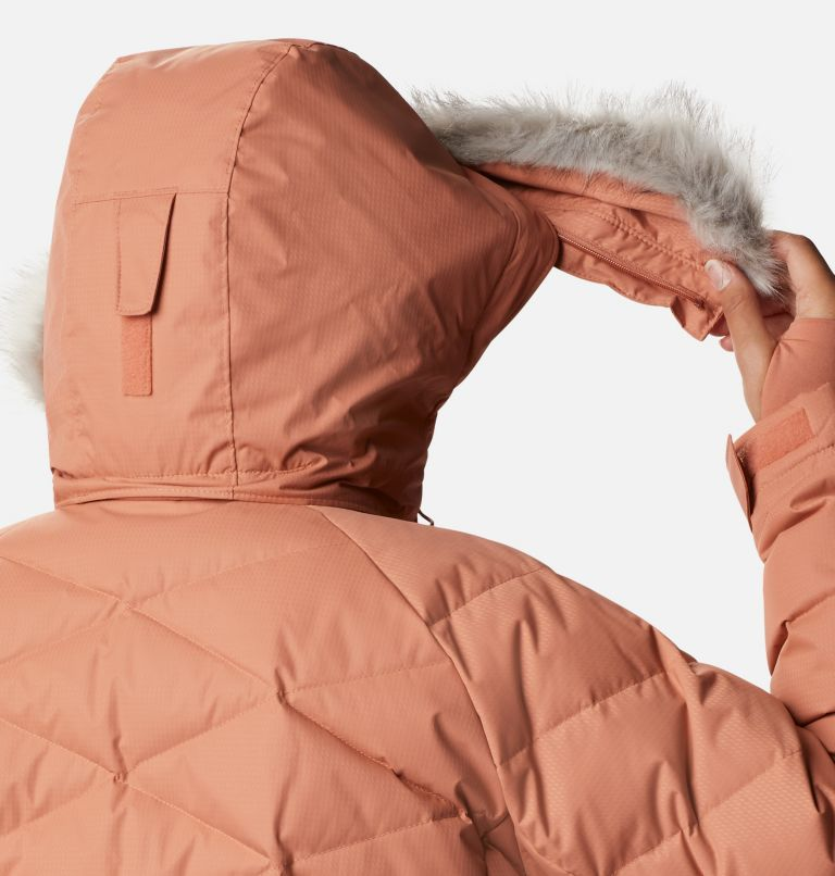 Lay D Down™ II Jacket | 604 | 2X Women's Lay D Down™ II Jacket - Plus Size, Nova Pink Dobby, a6