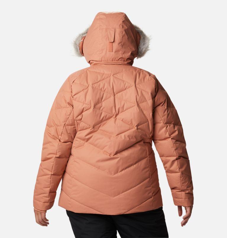 Lay D Down™ II Jacket | 604 | 2X Women's Lay D Down™ II Jacket - Plus Size, Nova Pink Dobby, back