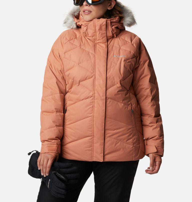 Lay D Down™ II Jacket | 604 | 2X Women's Lay D Down™ II Jacket - Plus Size, Nova Pink Dobby, front