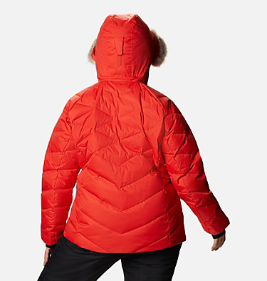 Women's Lay D Down™ II Jacket - Plus Size Lay D Down™ II Jacket | 843 | 1X, Bold Orange Dobby, back