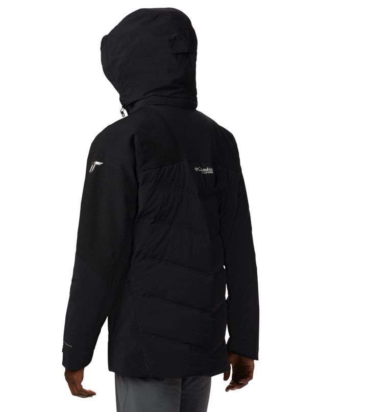 Powder Keg™ II Down Jacket | 011 | XXL Powder Keg™ II Down Ski Jacket, Black, back