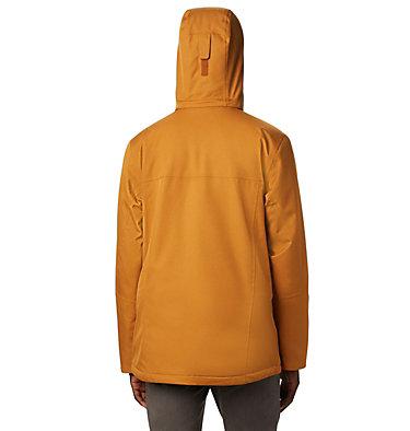 Men's Cushman Crest™ Insulated Jacket Cushman Crest™ Jacket   795   L, Burnished Amber Heather, back
