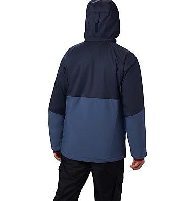 Men's Wildside™ Insulated Jacket Wildside™ Jacket | 479 | L, Dark Mountain, Collegiate Navy Heather, back