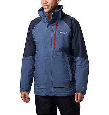 Men's Wildside™ Insulated Jacket Wildside™ Jacket | 023 | L, Dark Mountain, Collegiate Navy Heather, front