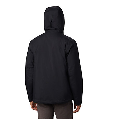 Men's Top Pine™ Insulated Rain Jacket Top Pine™ Insulated Rain Jacket | 010 | L, Black, back