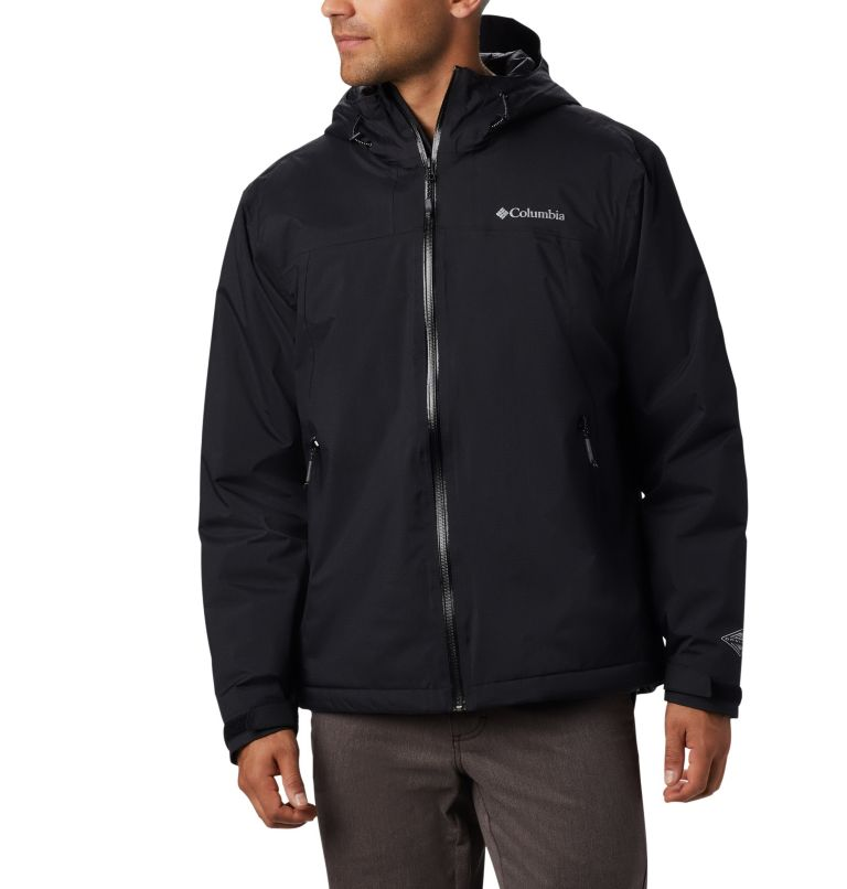 Men's Top Pine™ Insulated Rain Jacket Men's Top Pine™ Insulated Rain Jacket, front