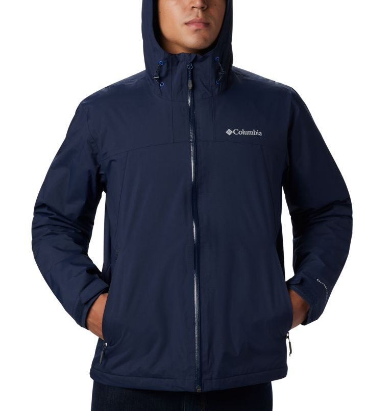 Men's Top Pine™ Insulated Rain Jacket Men's Top Pine™ Insulated Rain Jacket, a1