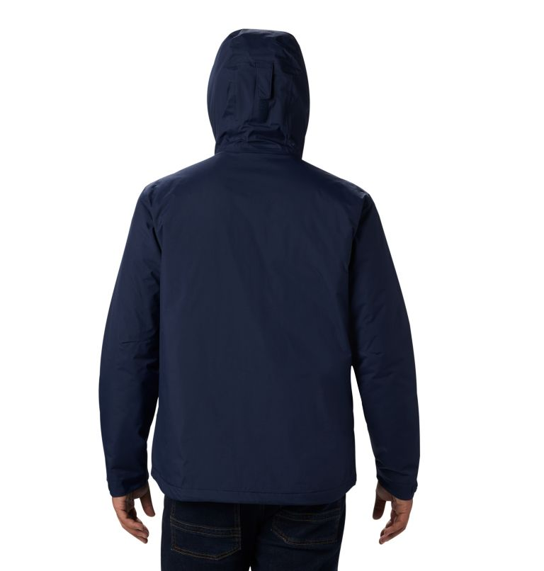 Men's Top Pine™ Insulated Rain Jacket Men's Top Pine™ Insulated Rain Jacket, back
