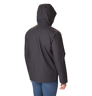 Men's Top Pine™ Insulated Rain Jacket Top Pine™ Insulated Rain Jacke | 010 | XXL, Shark, City Grey, back