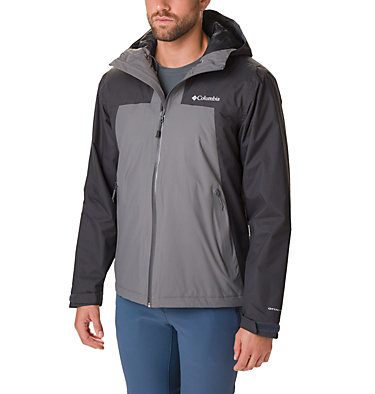 Men's Top Pine™ Insulated Rain Jacket Top Pine™ Insulated Rain Jacke | 010 | XXL, Shark, City Grey, front
