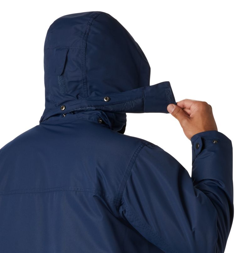 Rugged Path™ Parka | 464 | 5X Men's Rugged Path™ Parka - Big, Collegiate Navy, a2