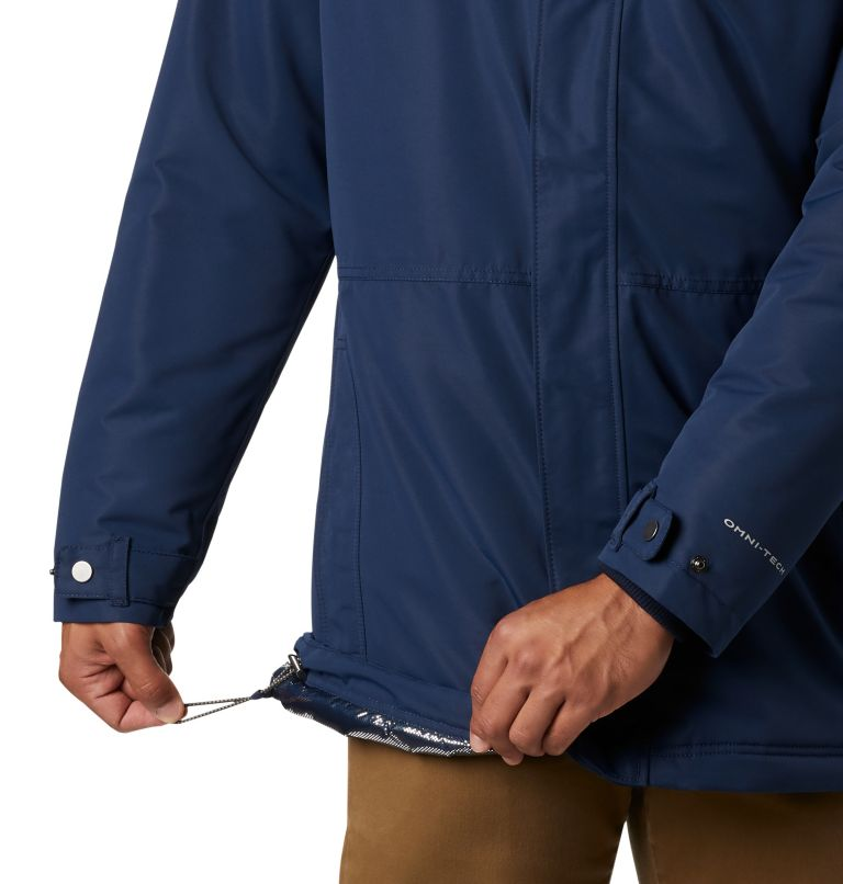 Rugged Path™ Parka | 464 | 5X Men's Rugged Path™ Parka - Big, Collegiate Navy, a3