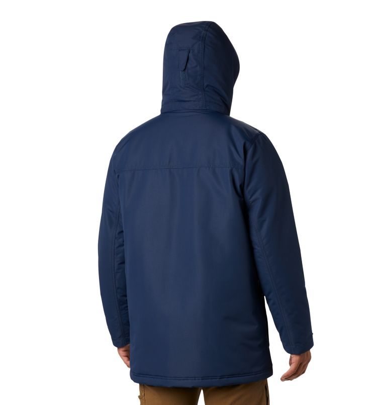 Rugged Path™ Parka | 464 | 4X Men's Rugged Path™ Parka - Big, Collegiate Navy, back