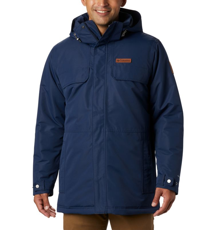 Rugged Path™ Parka | 464 | 4X Men's Rugged Path™ Parka - Big, Collegiate Navy, front
