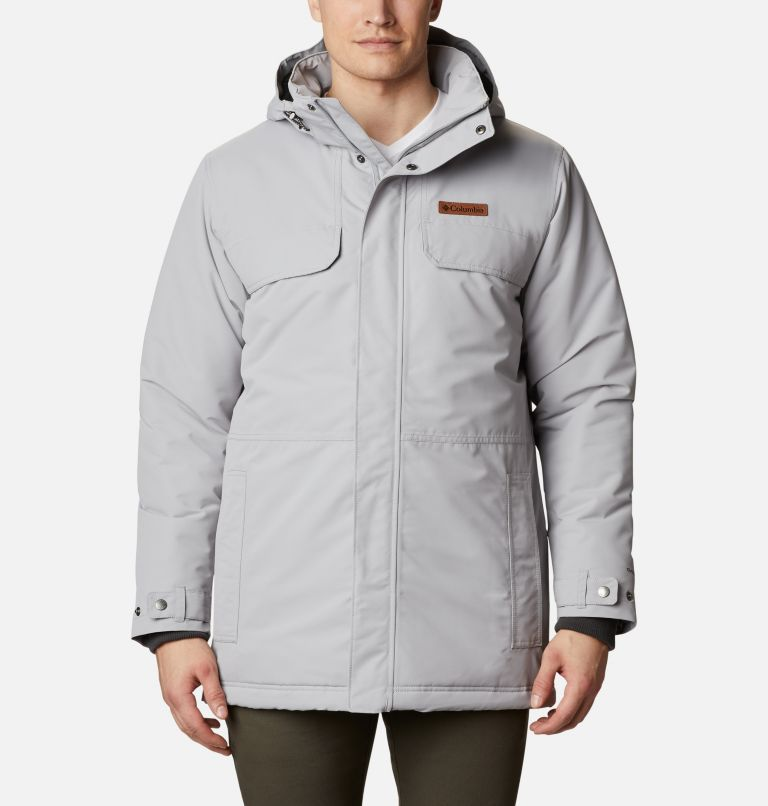 Rugged Path™ Parka | 039 | 3XT Men's Rugged Path™Parka - Tall, Columbia Grey, front