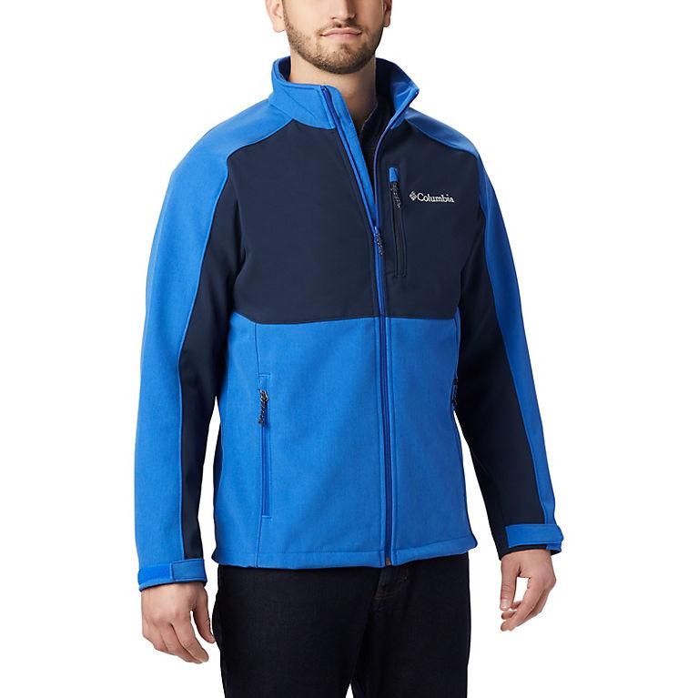 Azul, Collegiate Navy Men's Ryton Reserve™ Softshell Jacket, View 0