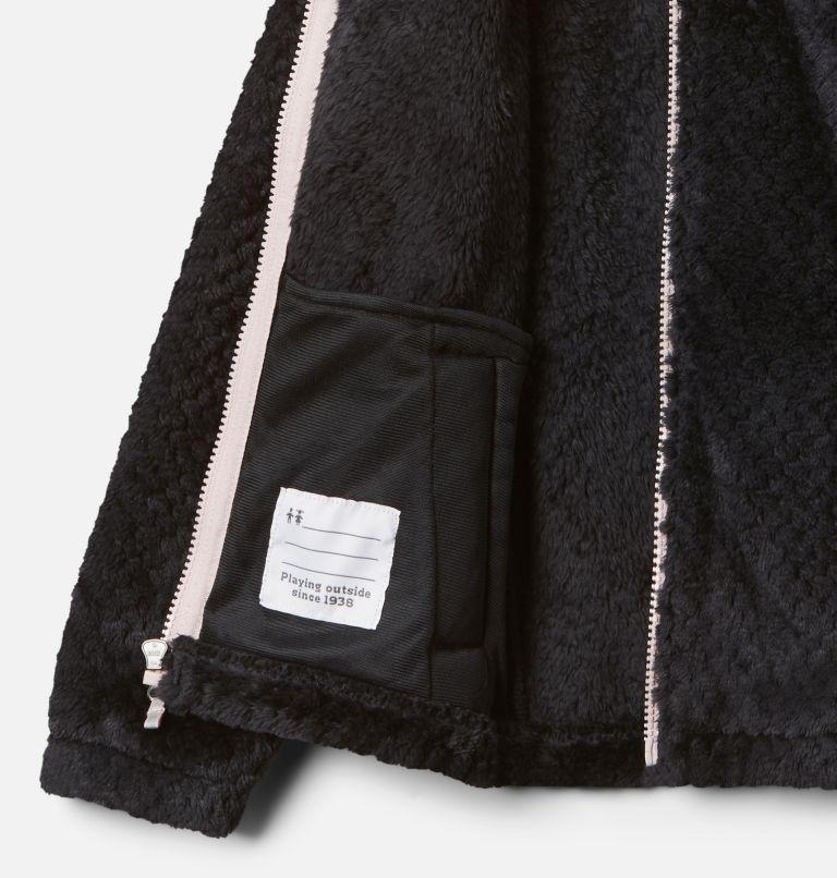Fire Side™ Sherpa Full Zip | 012 | XXS Girls' Fire Side™ Sherpa Jacket, Black, a1