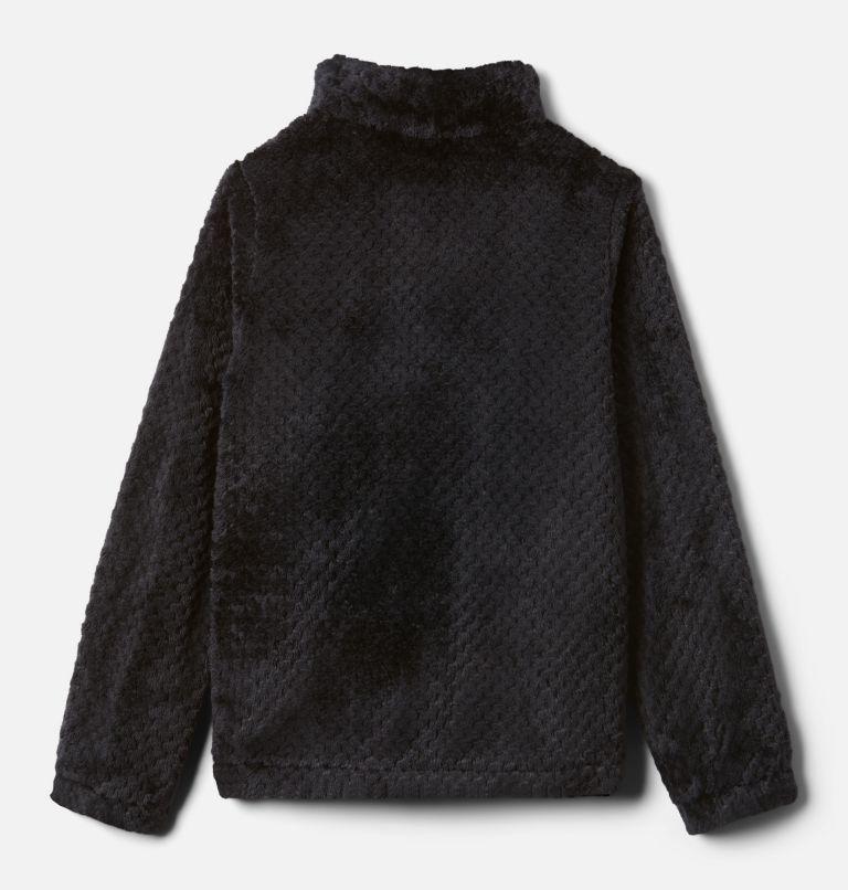 Fire Side™ Sherpa Full Zip | 012 | XXS Girls' Fire Side™ Sherpa Jacket, Black, back