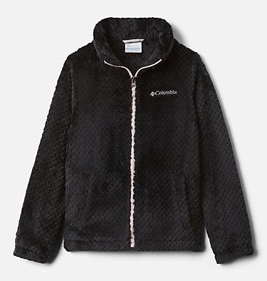 Girls' Fire Side™ Sherpa Jacket Fire Side™ Sherpa Full Zip | 689 | L, Black, front