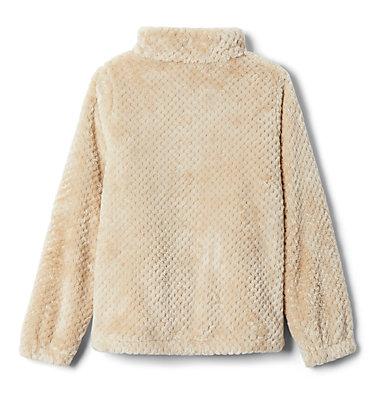 Girls' Fire Side™ Sherpa Jacket Fire Side™ Sherpa Full Zip | 689 | L, Ancient Fossil, back