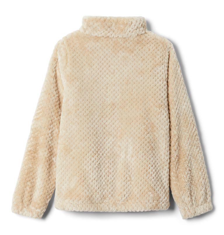 Fire Side™ Sherpa Full Zip | 271 | XXS Girls' Fire Side™ Sherpa Jacket, Ancient Fossil, back