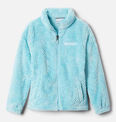 Girls' Fire Side™ Sherpa Jacket Fire Side™ Sherpa Full Zip | 689 | L, Aquatint, front