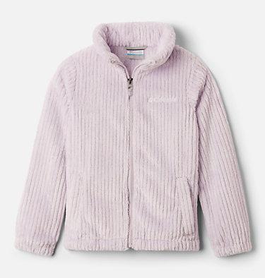 Girls' Fire Side™ Sherpa Jacket Fire Side™ Sherpa Full Zip | 689 | L, Pale Lilac, front