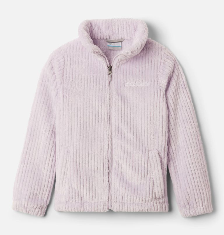 Fire Side™ Sherpa Full Zip | 584 | XXS Girls' Fire Side™ Sherpa Jacket, Pale Lilac, front
