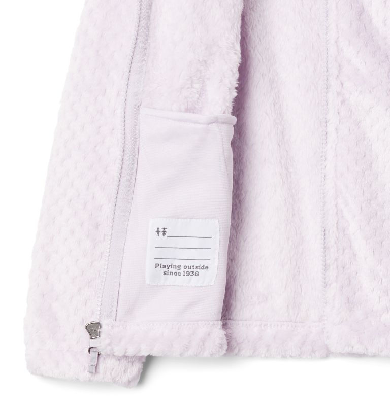 Fire Side™ Sherpa Full Zip | 585 | XXS Girls' Fire Side™ Sherpa Jacket, Pale Lilac, a1