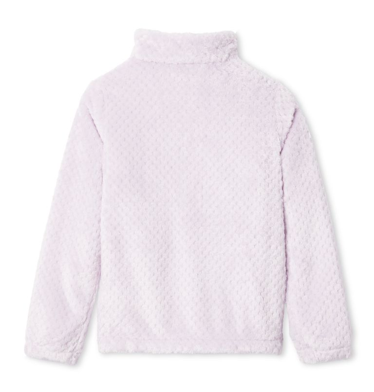 Fire Side™ Sherpa Full Zip | 585 | XXS Girls' Fire Side™ Sherpa Jacket, Pale Lilac, back