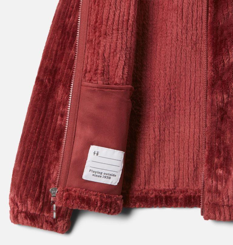 Fire Side™ Sherpa Full Zip | 619 | L Girls' Fire Side™ Sherpa Jacket, Marsala Red, a1
