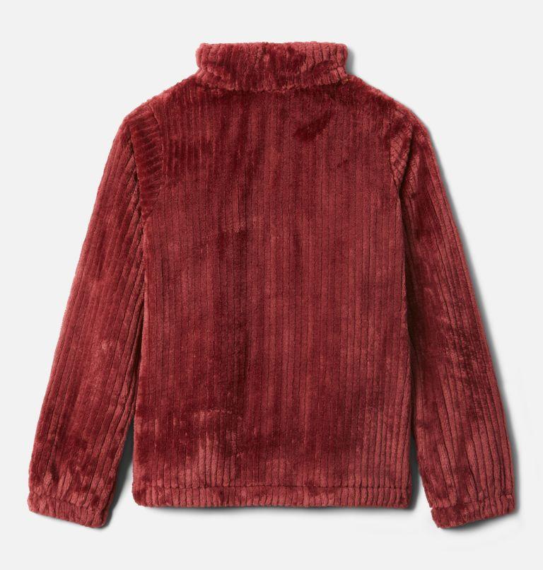 Fire Side™ Sherpa Full Zip | 619 | XXS Girls' Fire Side™ Sherpa Jacket, Marsala Red, back