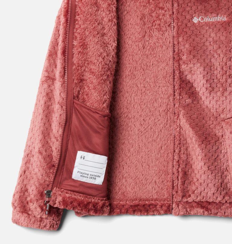 Fire Side™ Sherpa Full Zip | 620 | L Girls' Fire Side™ Sherpa Jacket, Marsala Red, a1