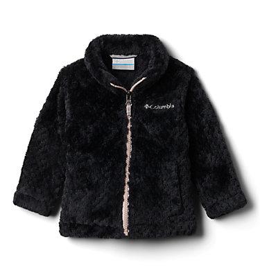 Girls' Infant Fire Side™ Sherpa Jacket Fire Side™ Sherpa Full Zip | 271 | 0/3, Black, front