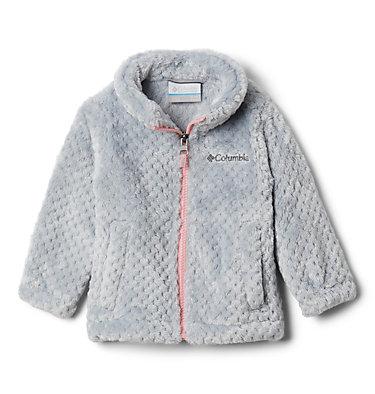 Girls' Infant Fire Side™ Sherpa Jacket Fire Side™ Sherpa Full Zip | 271 | 0/3, Columbia Grey, front