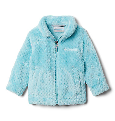 Girls' Infant Fire Side™ Sherpa Jacket Fire Side™ Sherpa Full Zip   370   6/12, Aquatint, front