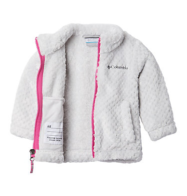 Chaqueta de polar Fire Side para niños  Fire Side™ Sherpa Full Zip | 012 | XS, Silver Grey, a1