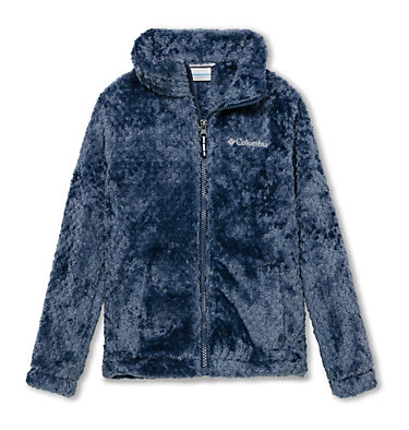 Youth Fire Side Fleece Jacket  Fire Side™ Sherpa Full Zip | 012 | XS, Nocturnal, front