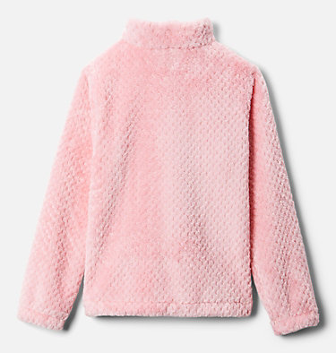 Youth Fire Side Fleece Jacket  Fire Side™ Sherpa Full Zip | 012 | XS, Pink Orchid, back