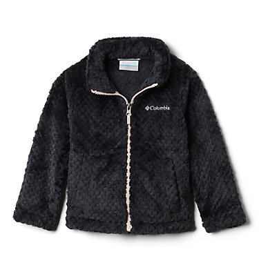 Toddler Fire Side™ Sherpa Full Zip Fire Side™ Sherpa Full Zip | 012 | 2T, Black, front