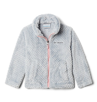 Toddler Fire Side™ Sherpa Full Zip Fire Side™ Sherpa Full Zip | 012 | 2T, Columbia Grey, front