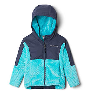 Girls' Toddler Fire Side™ Sherpa Hybrid Full-Zip