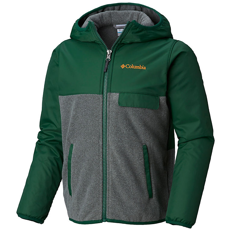 Columbia Mountain Side/ Overlay Full Zip Fleece