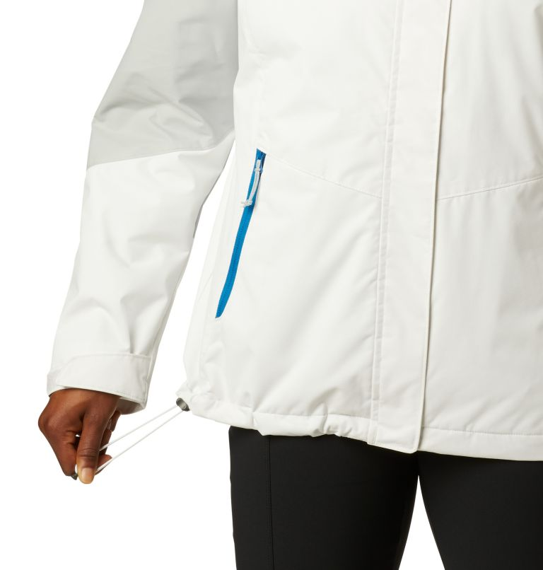 Bugaboo™ II Fleece Interchange Jacket | 100 | XS Women's Bugaboo™ II Fleece Interchange Jacket, White, Cirrus Grey, a4