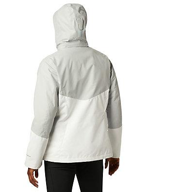 Bugaboo™ II 3-in-1-Fleecejacke für Frauen Bugaboo™ II Fleece Interchange Jacket | 100 | L, White, Cirrus Grey, back