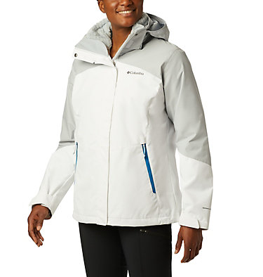 Women's Bugaboo™ II Fleece Interchange Jacket Bugaboo™ II Fleece Interchange Jacket | 100 | L, White, Cirrus Grey, front