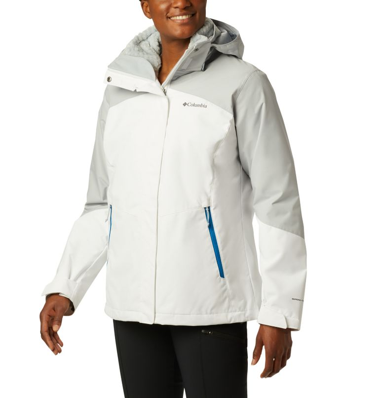 Bugaboo™ II Fleece Interchange Jacket | 100 | XS Women's Bugaboo™ II Fleece Interchange Jacket, White, Cirrus Grey, front