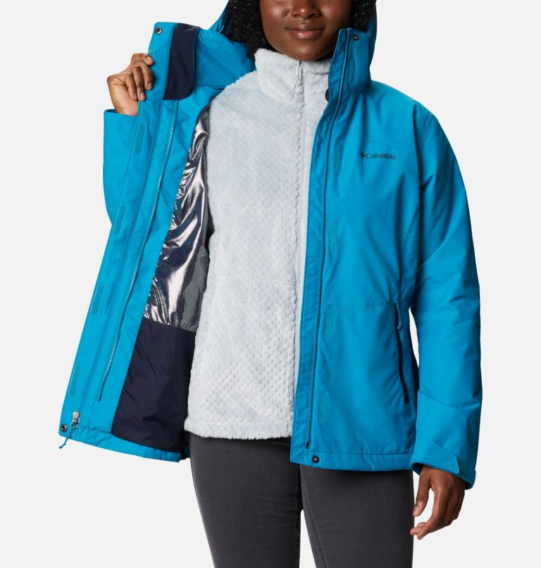 Bugaboo™ II Fleece Interchange Jacket | 462 | S Women's Bugaboo™ II Fleece Interchange Jacket, Fjord Blue, a3