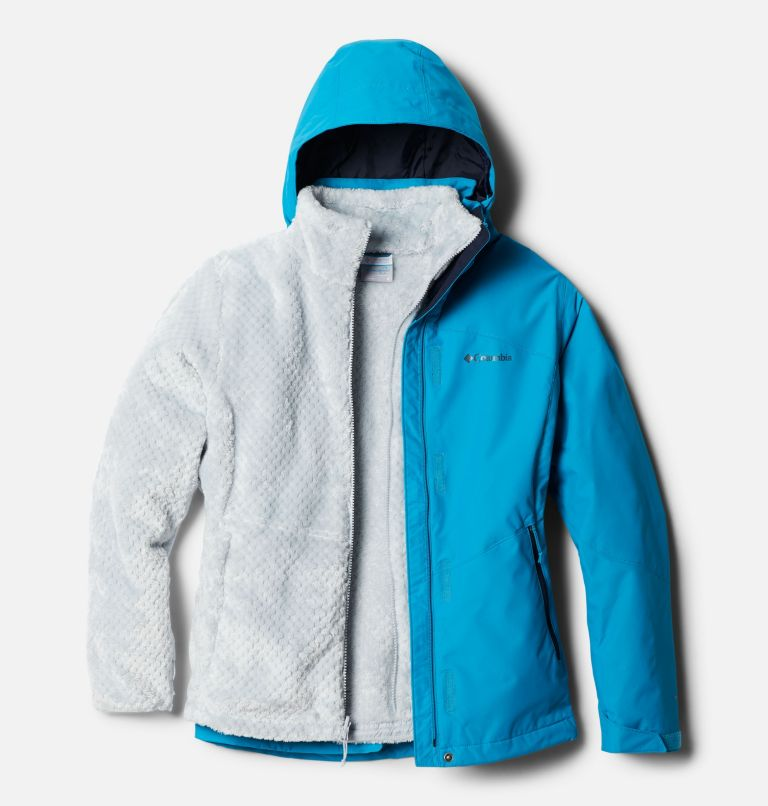 Bugaboo™ II Fleece Interchange Jacket | 462 | XS Women's Bugaboo™ II Fleece Interchange Jacket, Fjord Blue, front